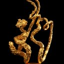 Golden Dragon Sculpture 2